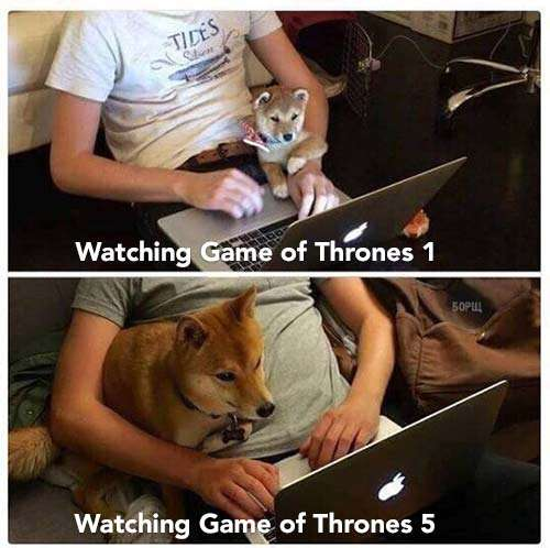 Watching Game of Thrones